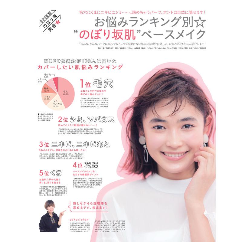 """お悩みランキング別 """"のぼり坂肌""""ベースメイク(1)"""
