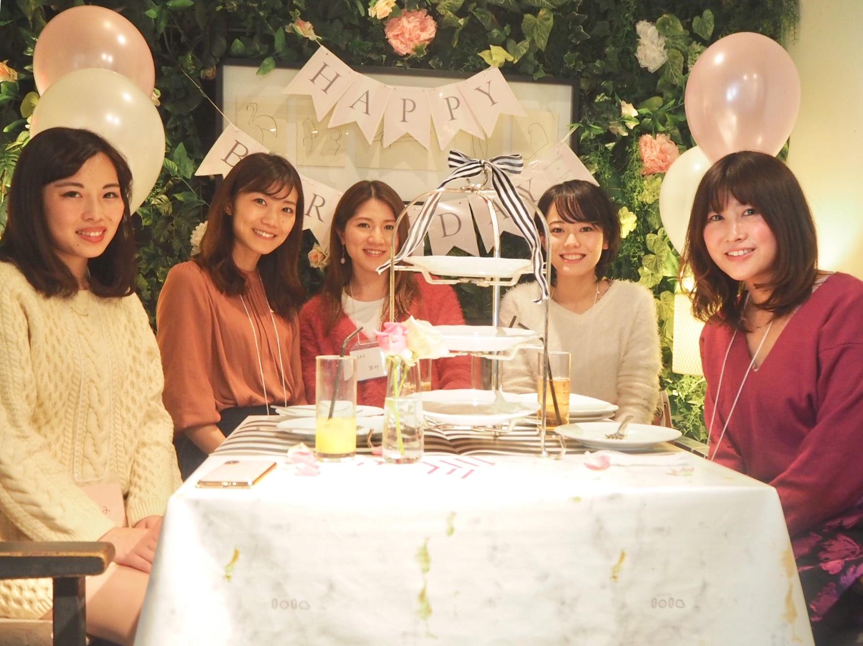 話題の青山カフェを貸切!モアハピ部大女子会♡_4