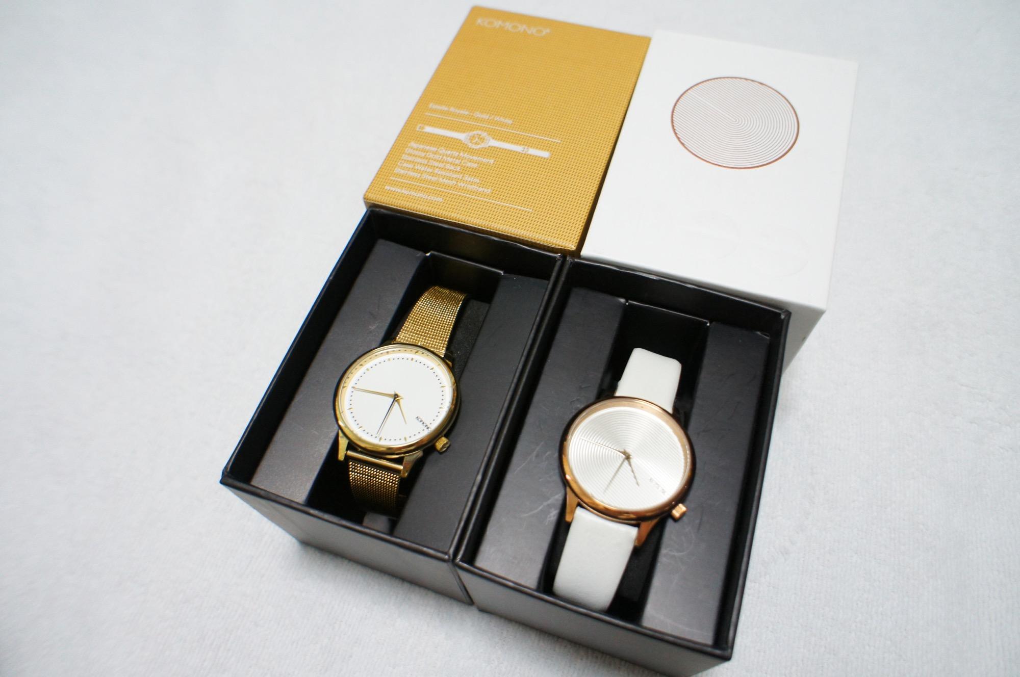 《買ってよかった福袋❤️》【KOMONO】の腕時計が2本で¥11,000でした☻!_2