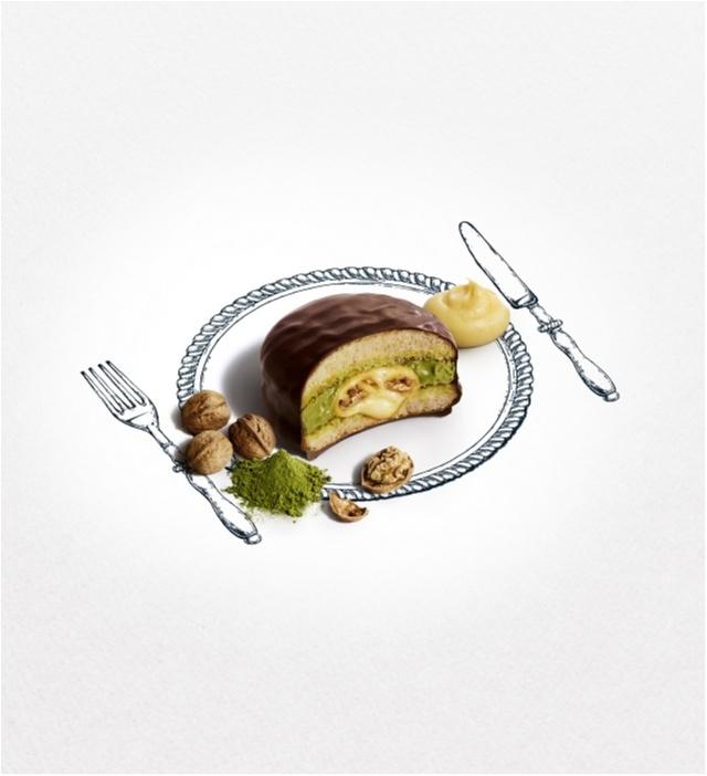 """ナイフとフォークで味わう「""""生""""チョコパイ」が気になりすぎる♡_1_2"""