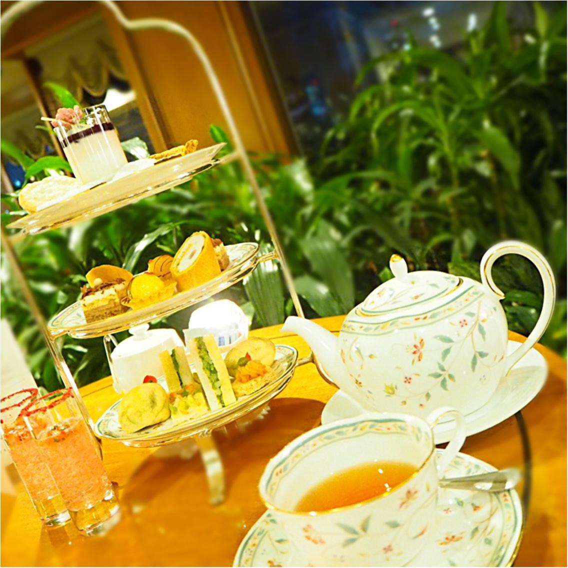 素敵な庭園がある【ホテル椿山荘東京】で美味しいイブニングティーを満喫♡_1