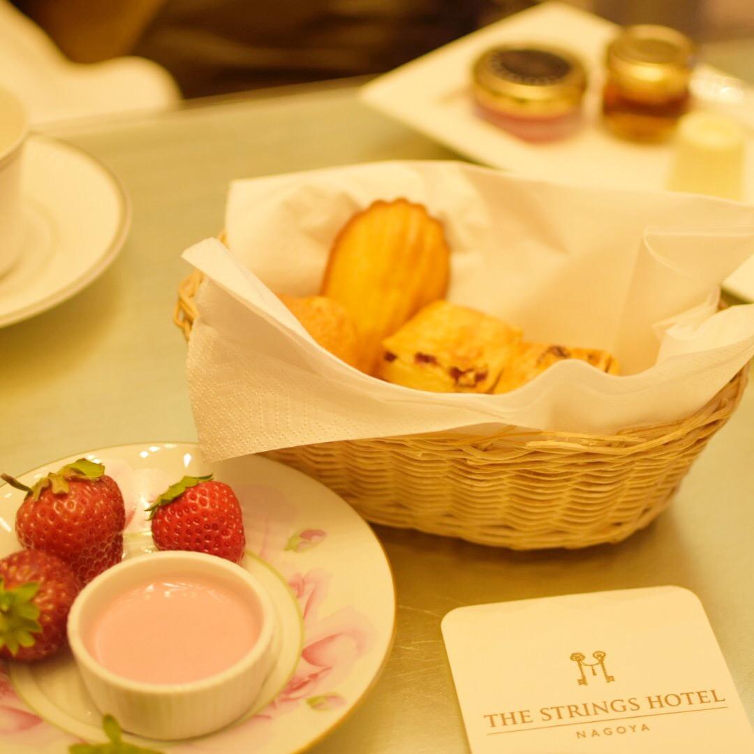 【名古屋】サーウィンストンホテル 幸せのピンクベア付きいちご&ローズアフタヌーンティー_7