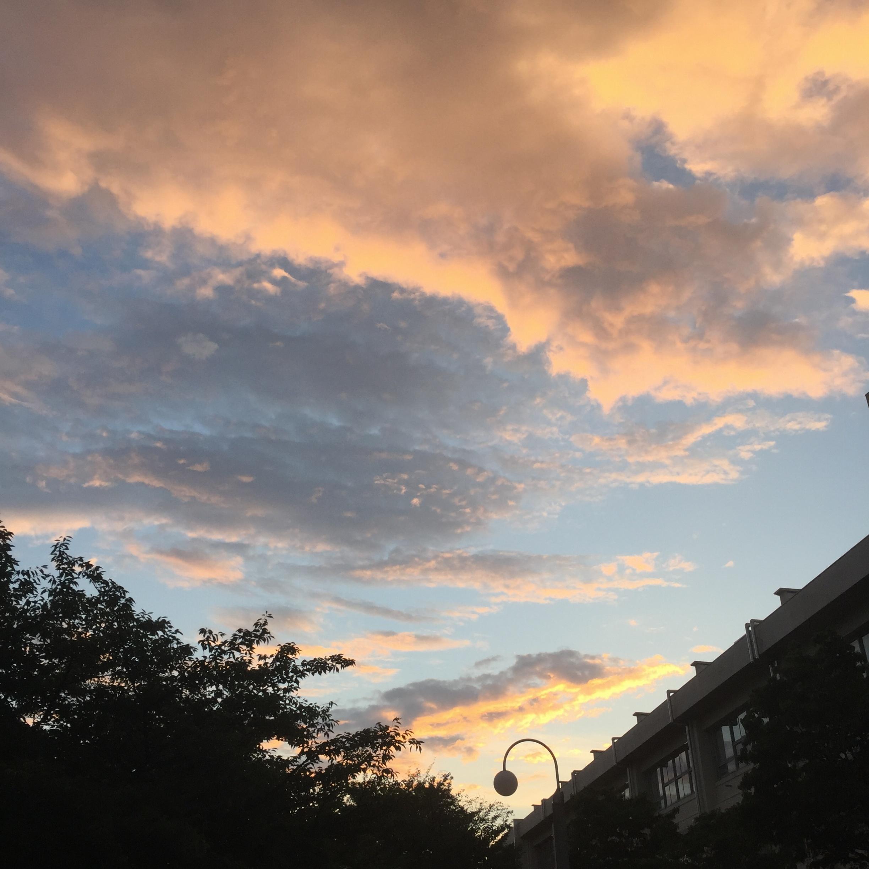虹が...✨✨_2