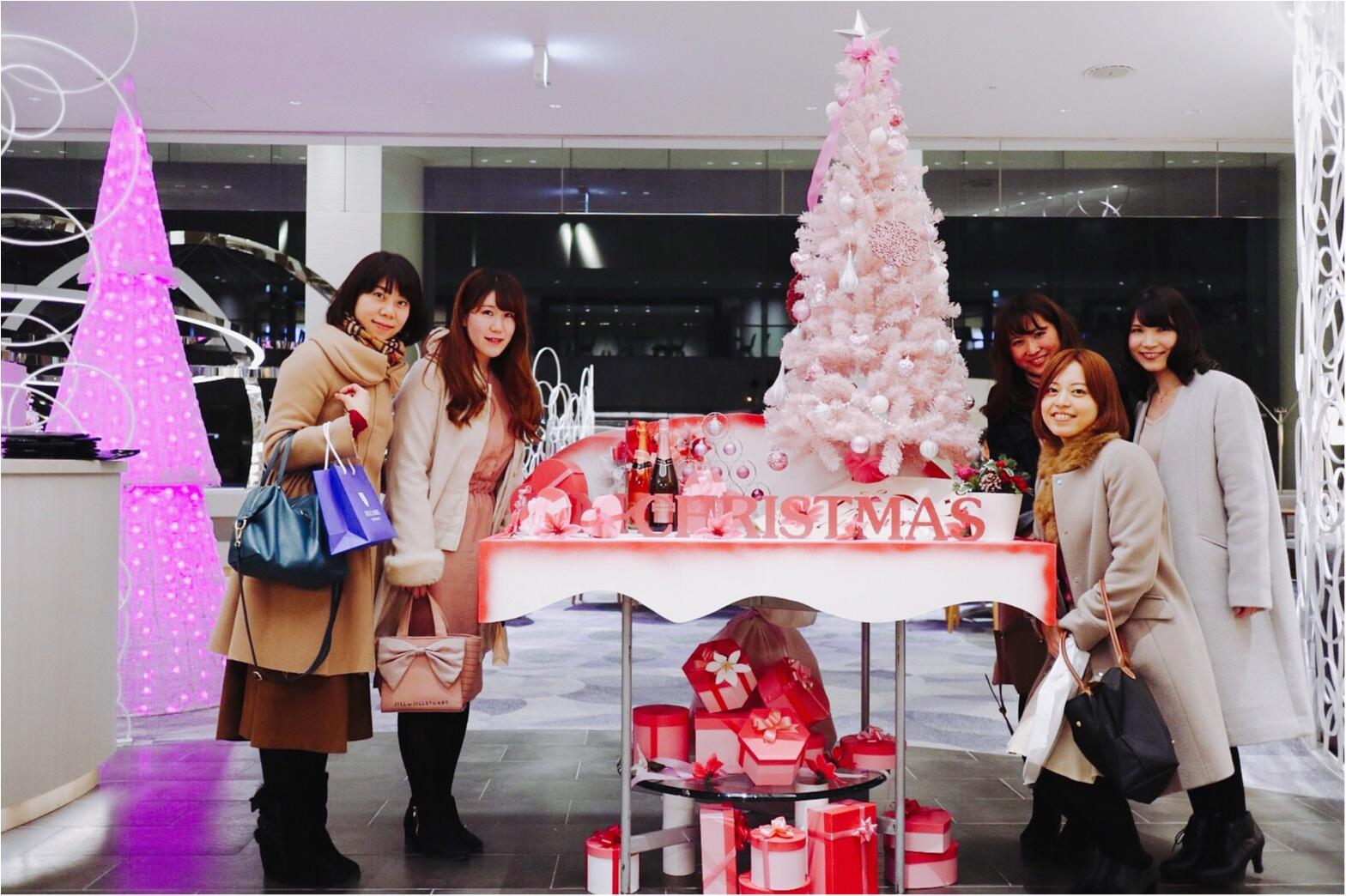 ヒルトン東京ベイ【ピンク・クリスマス】ビュッフェがかわいすぎる!_5