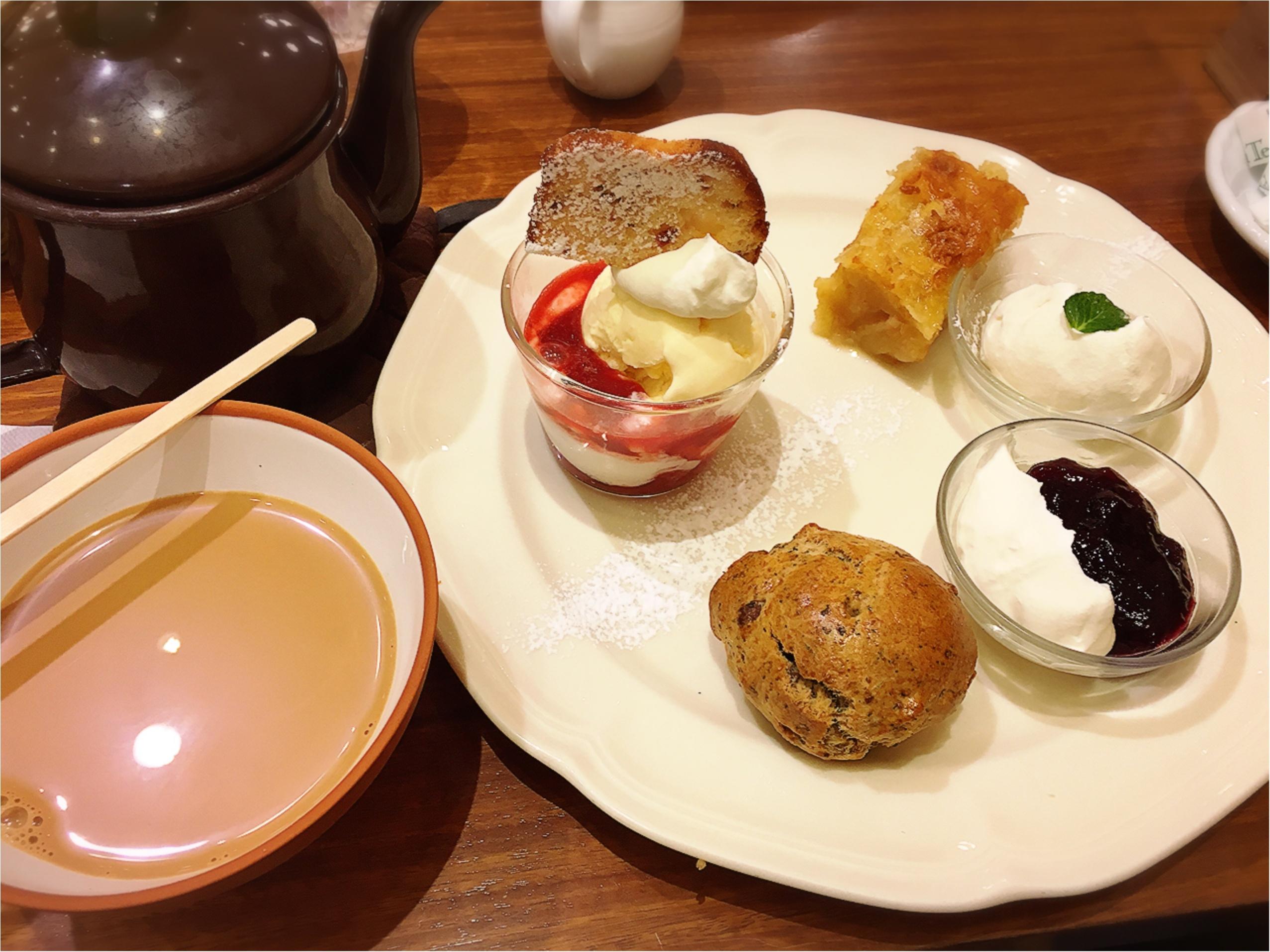 Afternoon Tea tearoom(アフタヌーンティーティールーム)のアフタヌーンティーセットがすき。_7