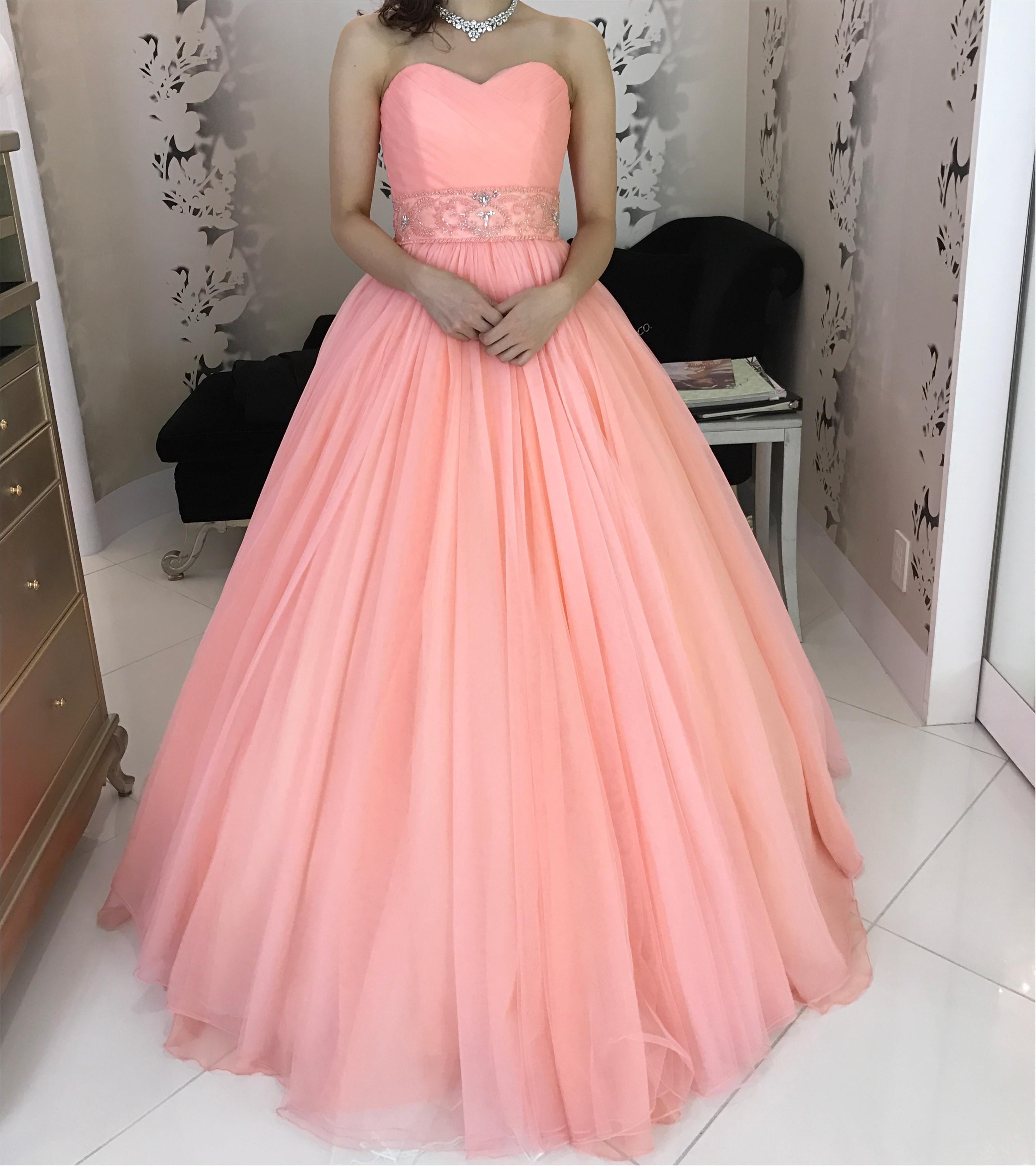 春の挙式にぴったりな春色カラーのドレス♡モアはぴ世代にも甘すぎないのがポイント♡_2
