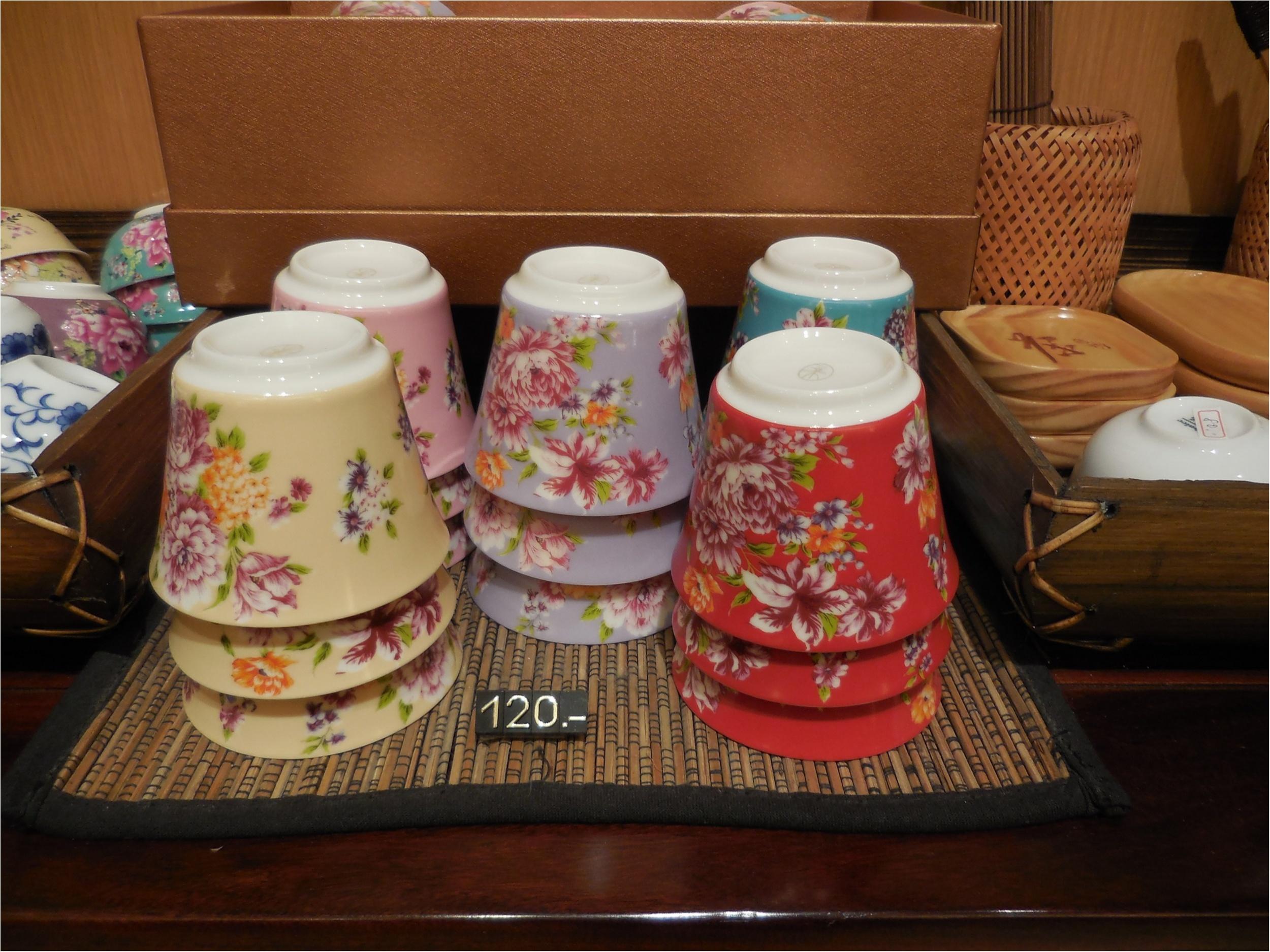 【台湾・台北】台湾花布をモチーフにした飲杯が最高に可愛い!_6