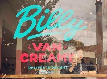 """<女子旅*オーストラリア>メルボルンキッズにも人気!念願のアイスクリーマリー""""Billy VAN CREAMY""""へ行ってきました♡"""