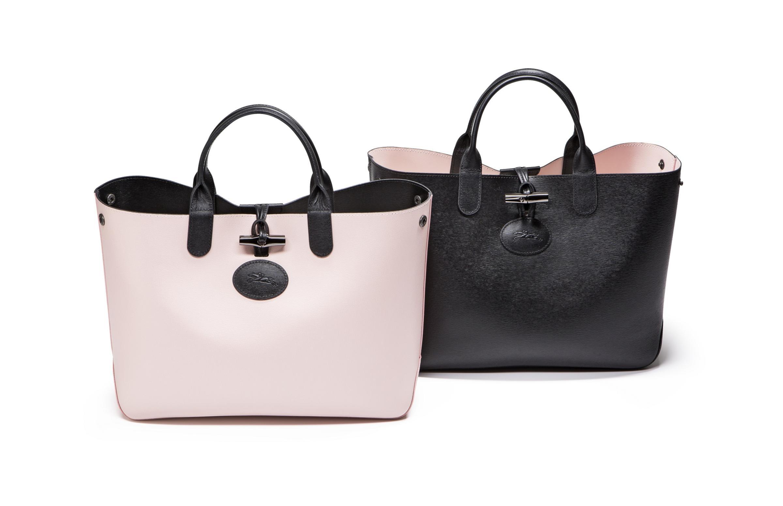 dda8b52c94e5 『ロンシャン』の新作バッグは、こんなにキレイなのにリバーシブル!_1