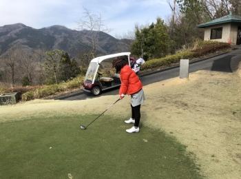 ゴルフしてきたよ