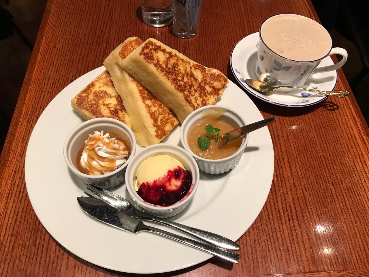 【もちもちフレンチトースト】人気店の隠れ家カフェ❤︎_1