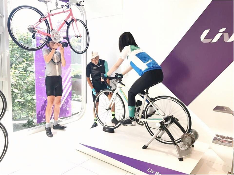 「ツール・ド・東北」に向けて…初ロードバイクレッスン♡オフィシャル・チャリティー・サイクルジャージもご紹介!【#モアチャレ さえ】_2_3