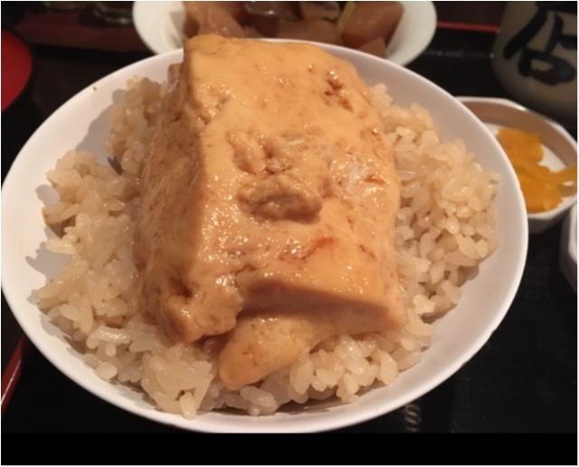 【日本橋名物】とうめし。って知ってる?〜ご飯×豆腐がなんでこんなに美味しいの〜 _7