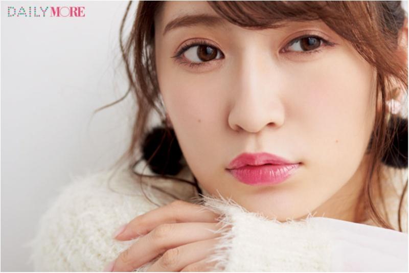NMB48の吉田朱里さんは、可愛げ系&うるうる系で愛され唇に! 【瞬時にイメチェン♡きれいな人が使うスタメンリップ】_4