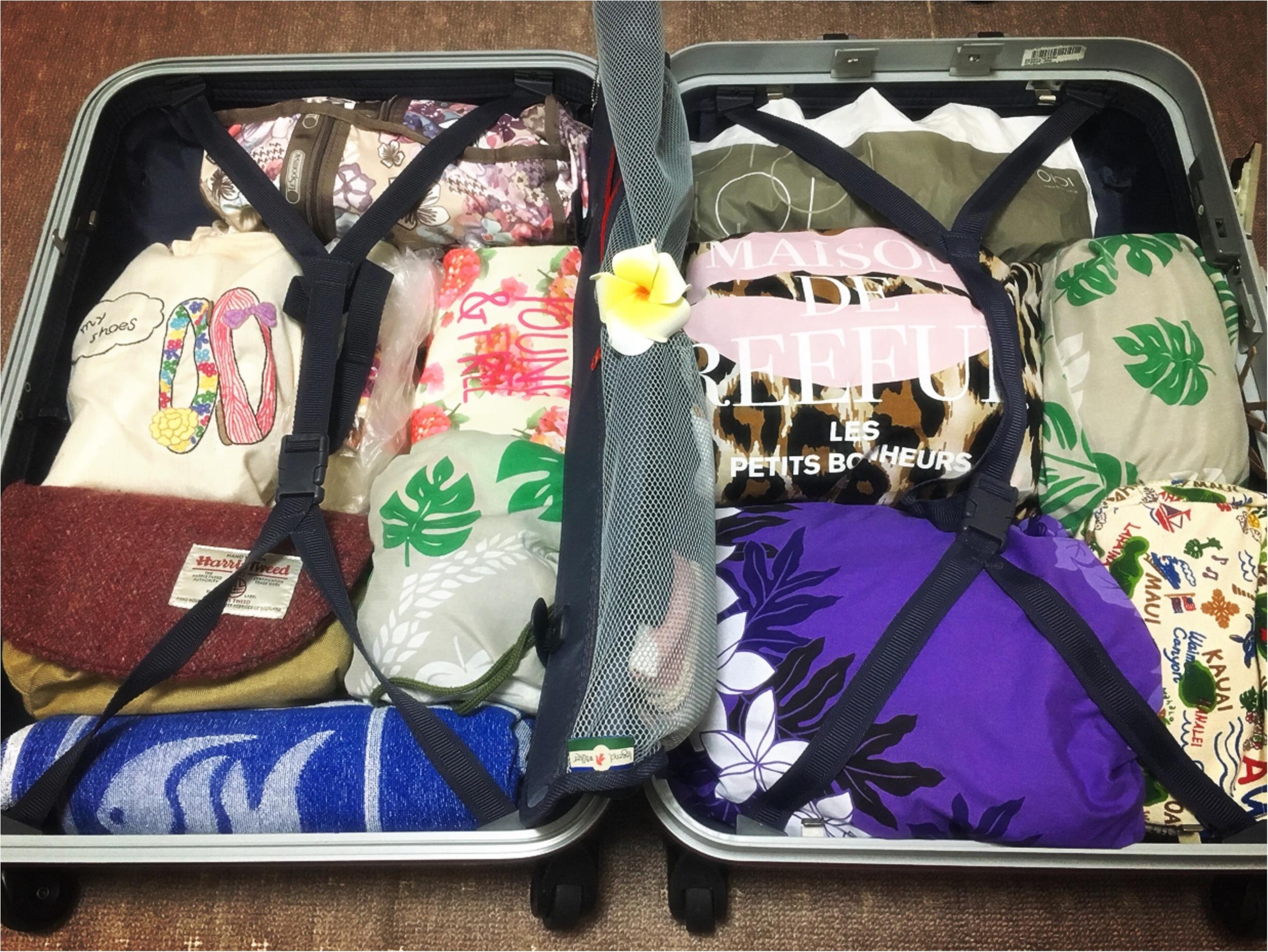 【TRIP】海外旅行の始まりは準備から!賢く整頓するパッキング術★_1