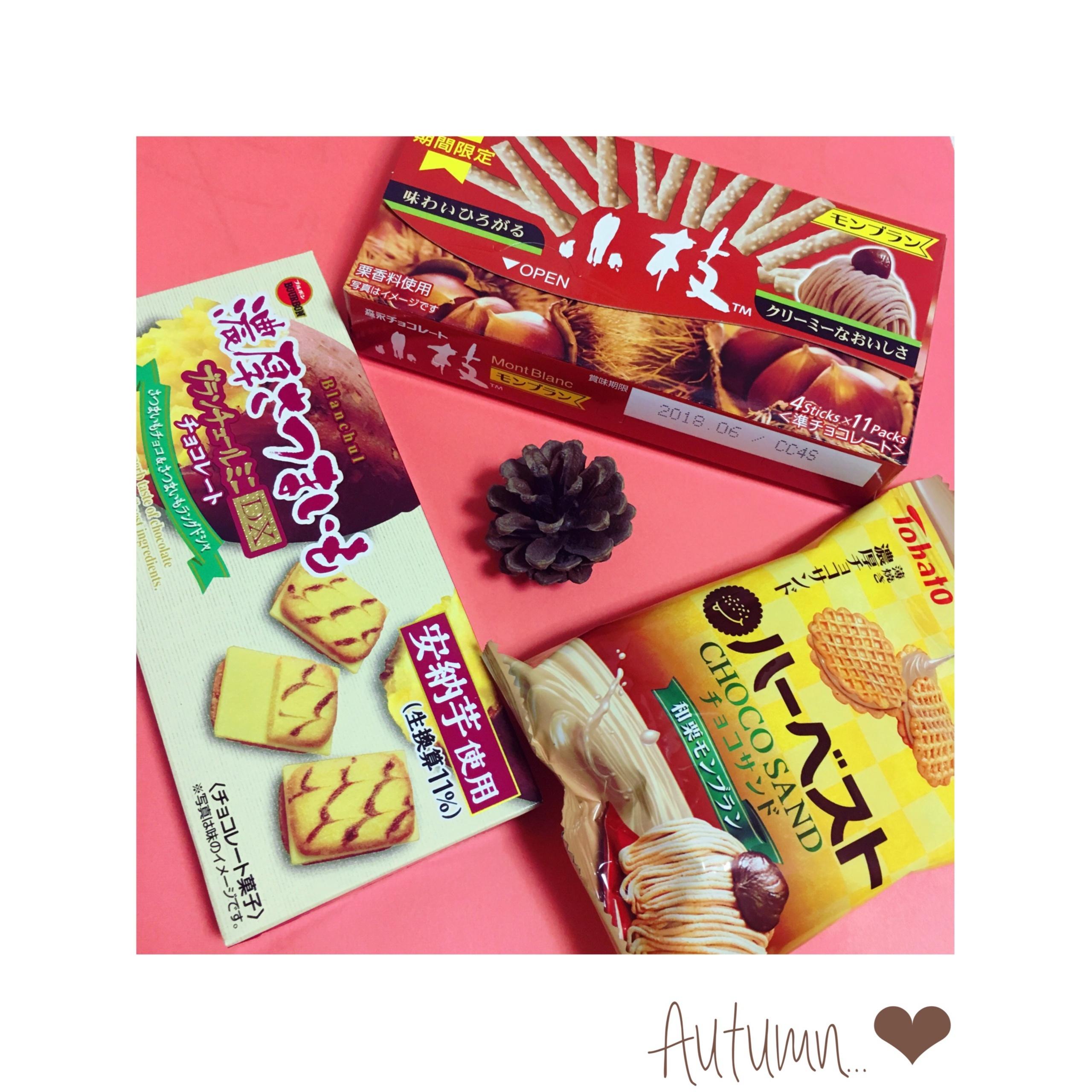 コンビニお菓子も《秋モード❤️》【今週発売】のおすすめお菓子3選★_1