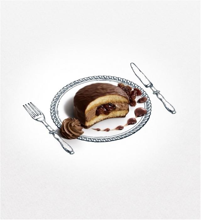 """ナイフとフォークで味わう「""""生""""チョコパイ」が気になりすぎる♡_1_4"""