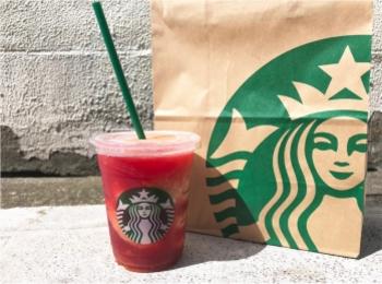 【スタバ】夏の新作はなんとトマト×紅茶⁈新感覚《フローズンティー》はフルーティでさっぱりおいしい❤️