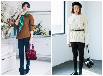 2019年、冬のおすすめ【スキニーコーデ】は? | ファッション・レディース・黒パンツ・デニム