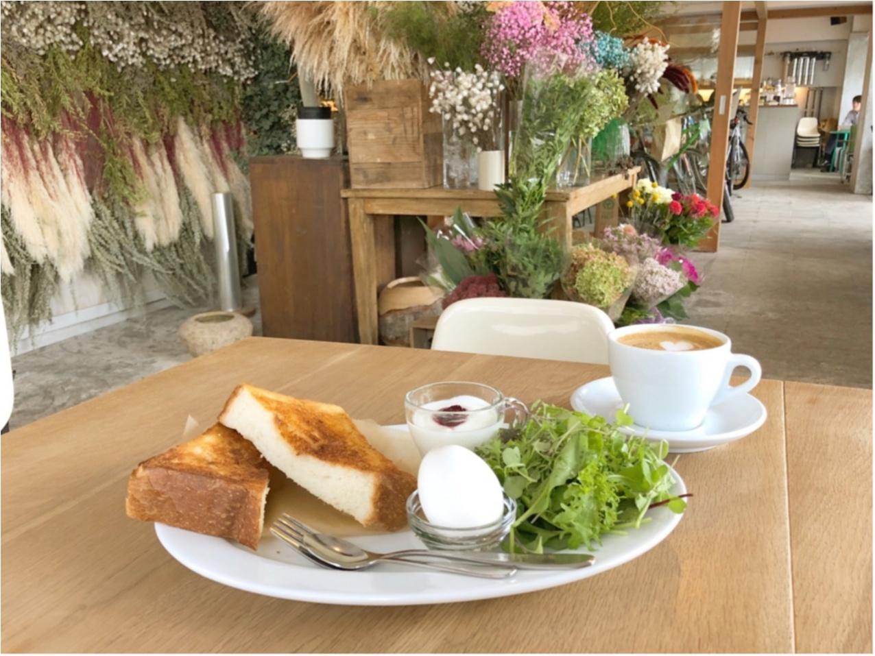 広島 カフェ モーニングセット 朝活