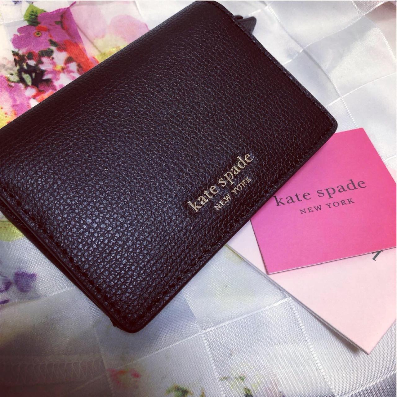 <ミニ財布>パスケースにも使える!最強のコンパクト財布ならケイトスペードが超オススメ!♡_1