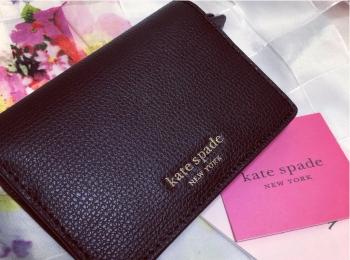 <ミニ財布>パスケースにも使える!最強のコンパクト財布ならケイトスペードが超オススメ!♡