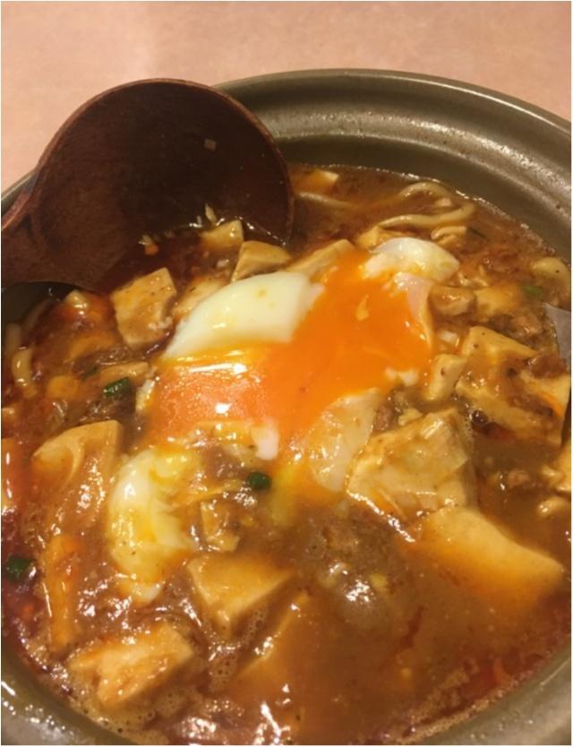 麻婆麺が絶品の中華屋さんで美女杏仁出現!?_6