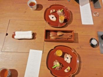 【蓼科親湯温泉】レストランの個室で食べる蓼科 山キュイジーヌ