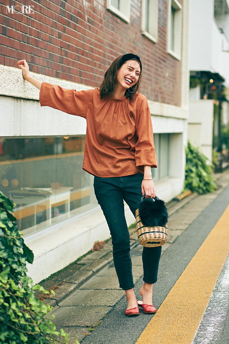 秋コーデ特集《2019年版》- トレンドのブラウンや人気のワンピース・スカートでつくる、20代におすすめのレディースコーデ_12