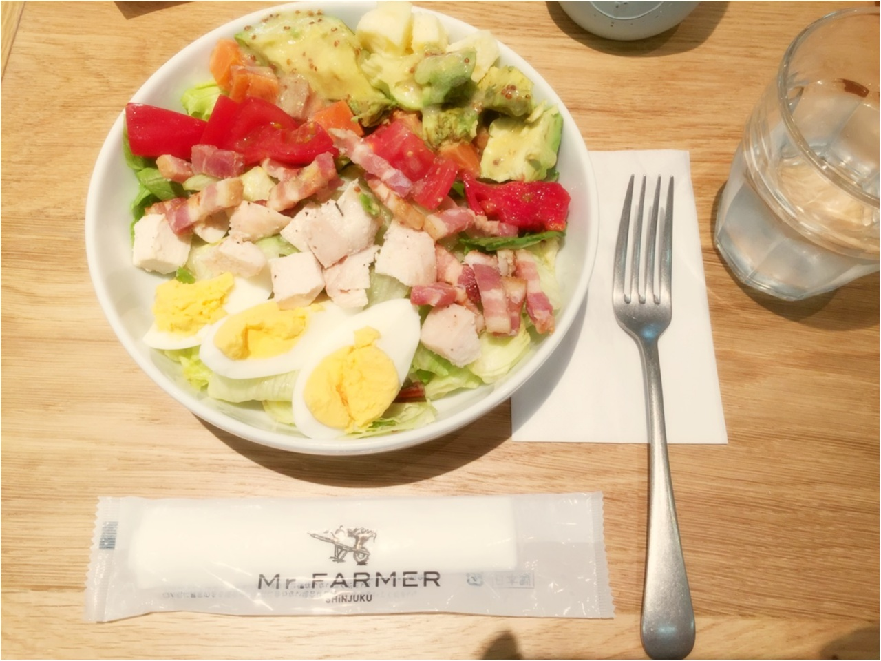 ダイエット中にも◎お野菜たっぷりサラダランチ*_2