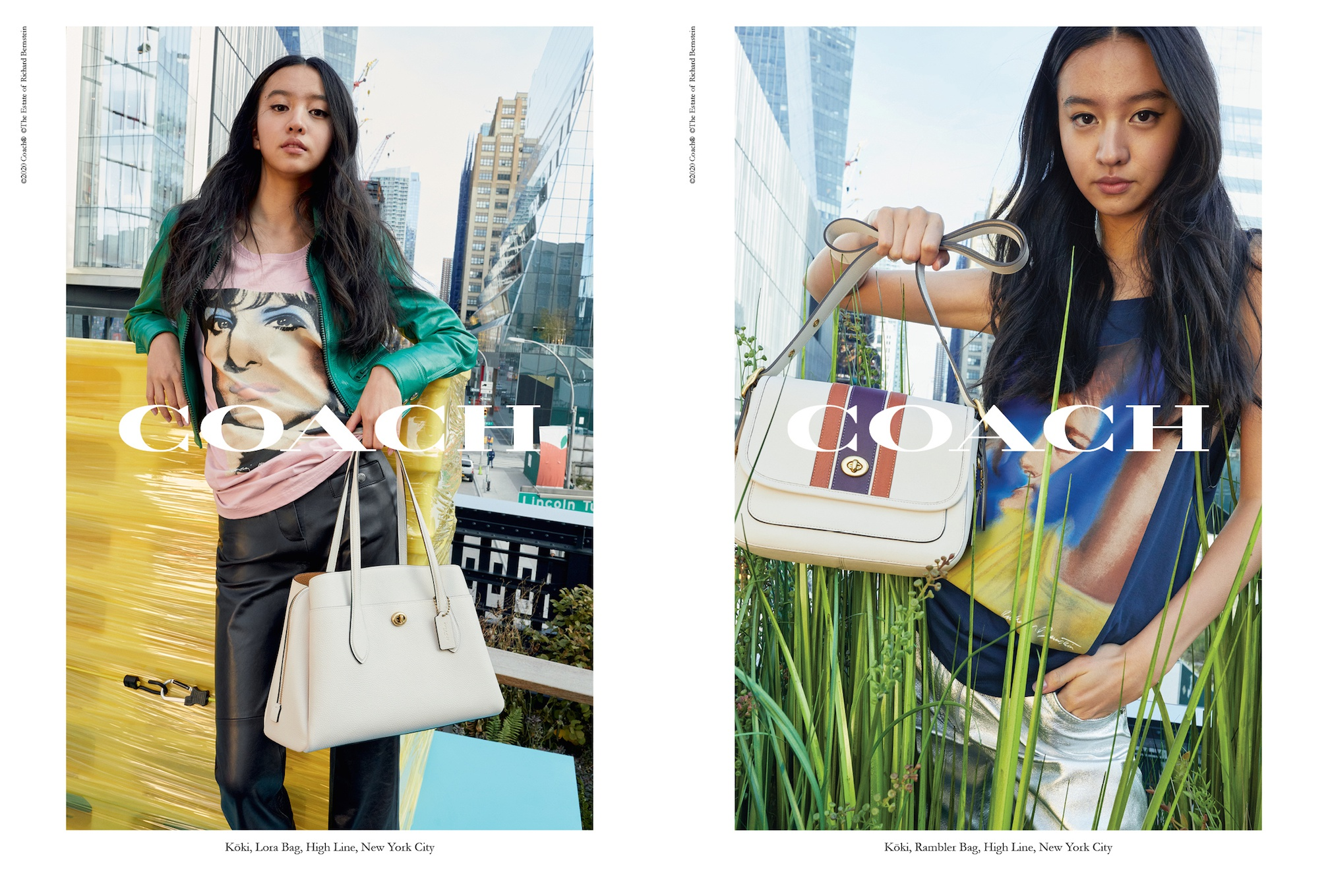 『コーチ』の広告キャンペーンに起用されたのは、モデルのKōki,さん! 彼女が持っている新作バッグもチェック☆_1