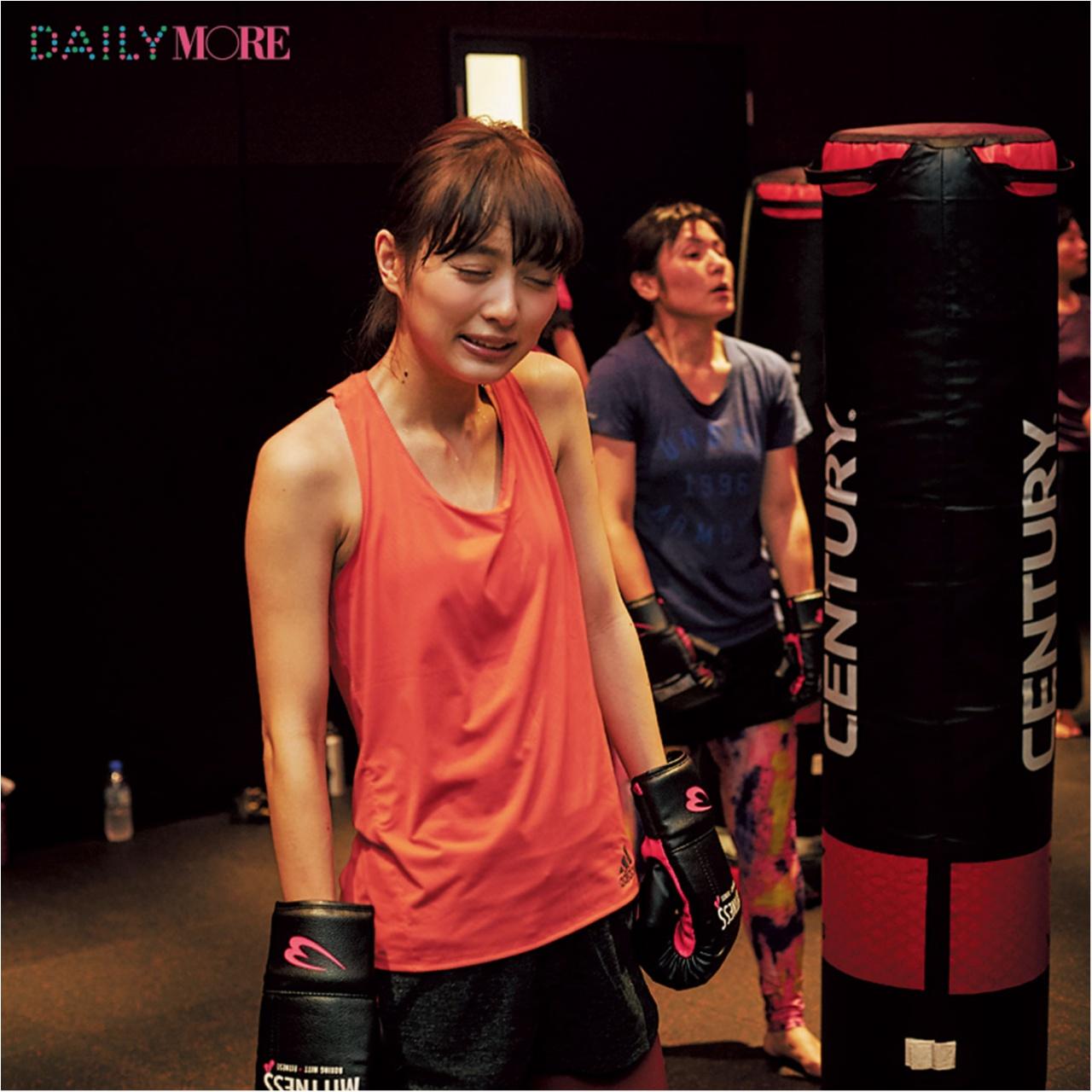 【動画でチェック!】 内田理央、人生で一番、汗をかく? 話題の女子専用ジム『MITTNESS』に突撃! 【#モアチャレ 内田理央の「キックボクシング」チャレンジ】_2_3
