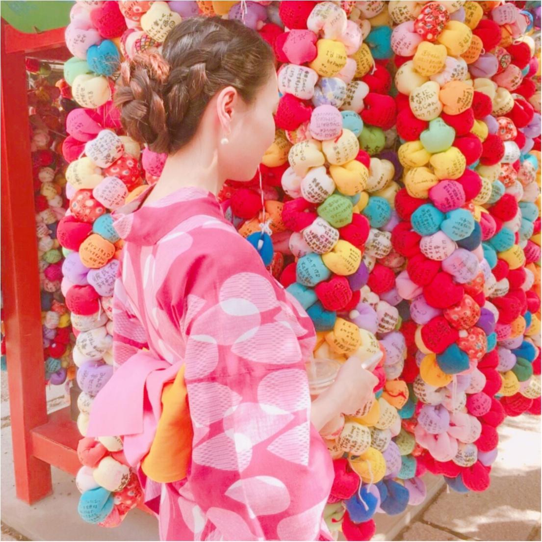 """夏は""""浴衣""""が着たい♡ 京都での思い出づくりにぴったり♪ カワイイのに低価格!?着物レンタルのお店 ♡_4"""