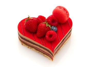 『サダハルアオキ』のハートの限定ケーキを、2人で一緒に食べたいな♡ 【 2019 #バレンタインチョコ 19】
