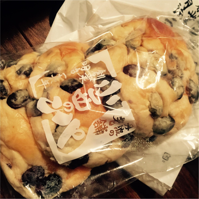 とっても美味しい篠山名物♡お豆ゴロゴロ!小西のパンの黒豆パン_1