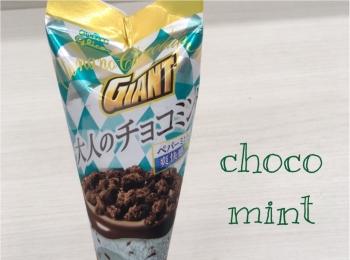<チョコミン党は集まれー!>ジャイアントコーン 大人のチョコミントがセブン-イレブンで限定販売中!♡