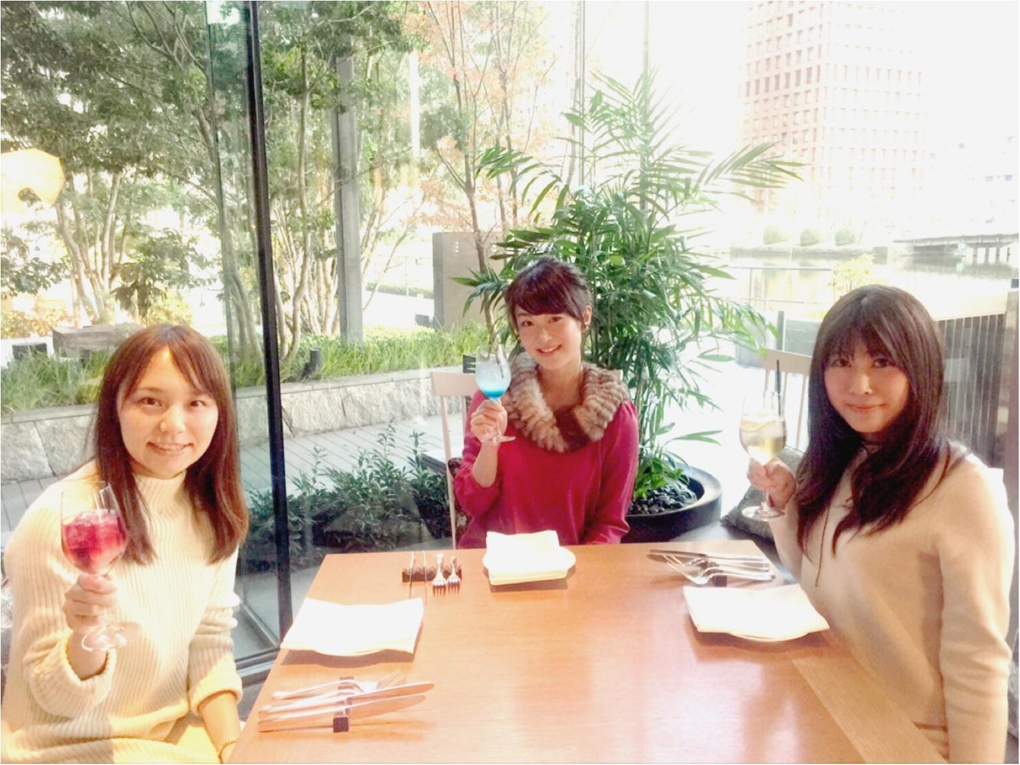 パレスホテル東京の贅沢ランチ!こんなに高級なフライドポテト食べたことある?【MORE3月号】_1