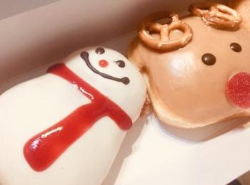 札幌でも食べれるようになりました【クリスピークリームドーナツ】の冬の新作いただきました!!!