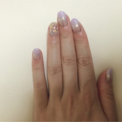 My nail is ...