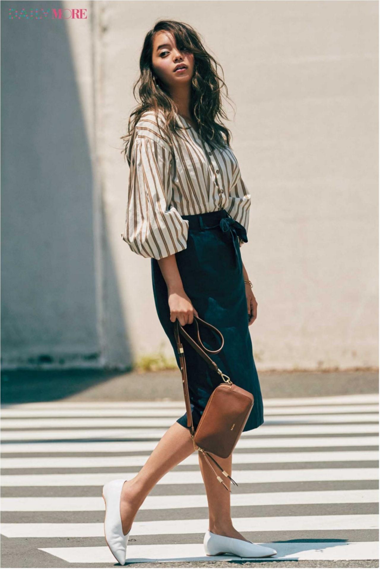 『GU』の細見えスカートが新たなヒット伝説の予感! バッグ、スニーカー人気も継続中! 今週のファッション人気ランキングトップ3☆_1_3