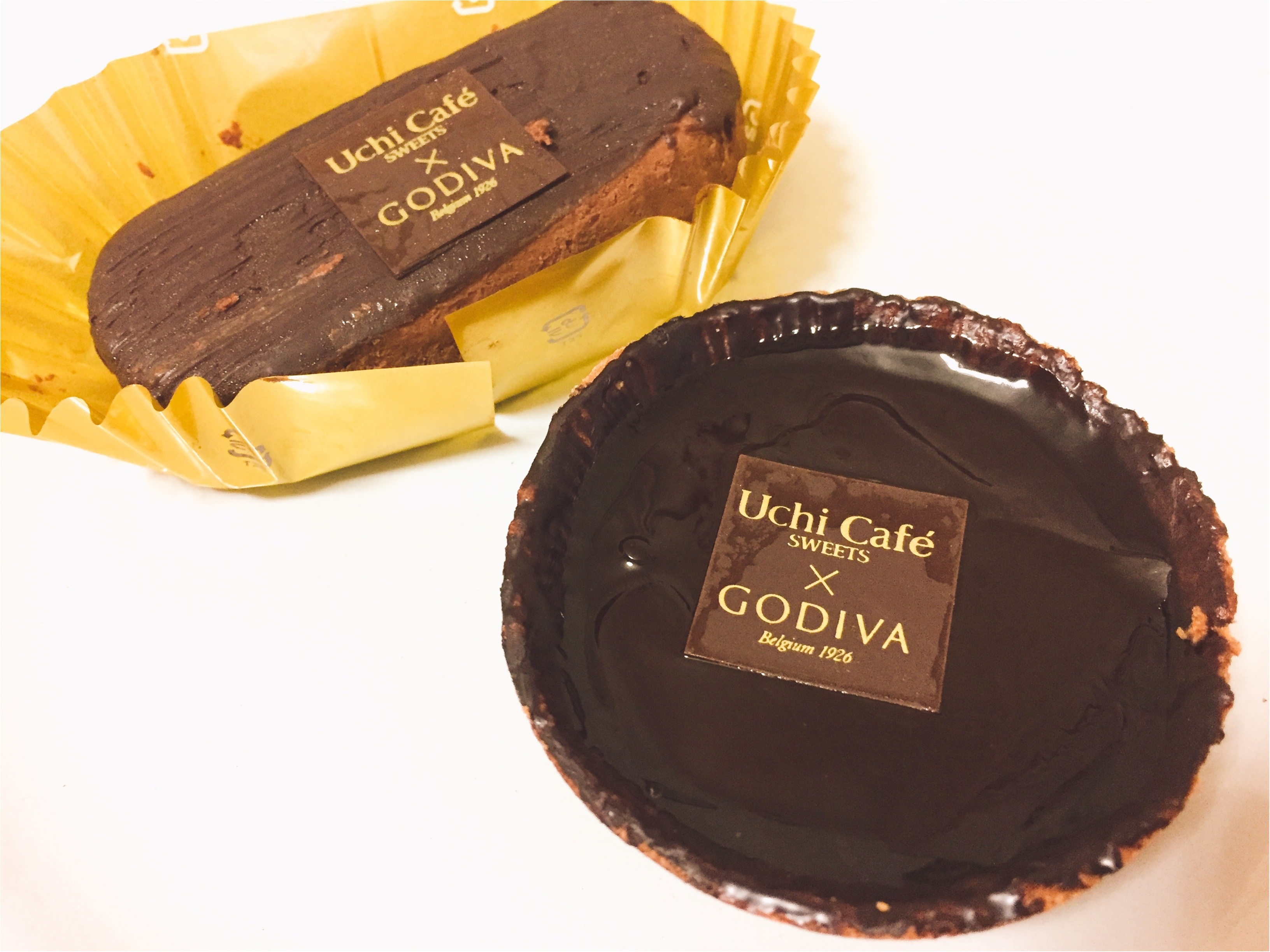 大人気!ローソン×GODIVAコラボ第3弾は、濃厚リッチな『ショコラタルト』と『ガトーショコラ』!!_2