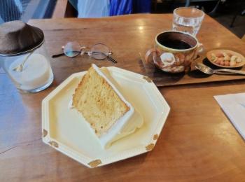 【三鷹】モリスケ・横森珈琲 シフォンケーキがここまでおいしいなんて♡