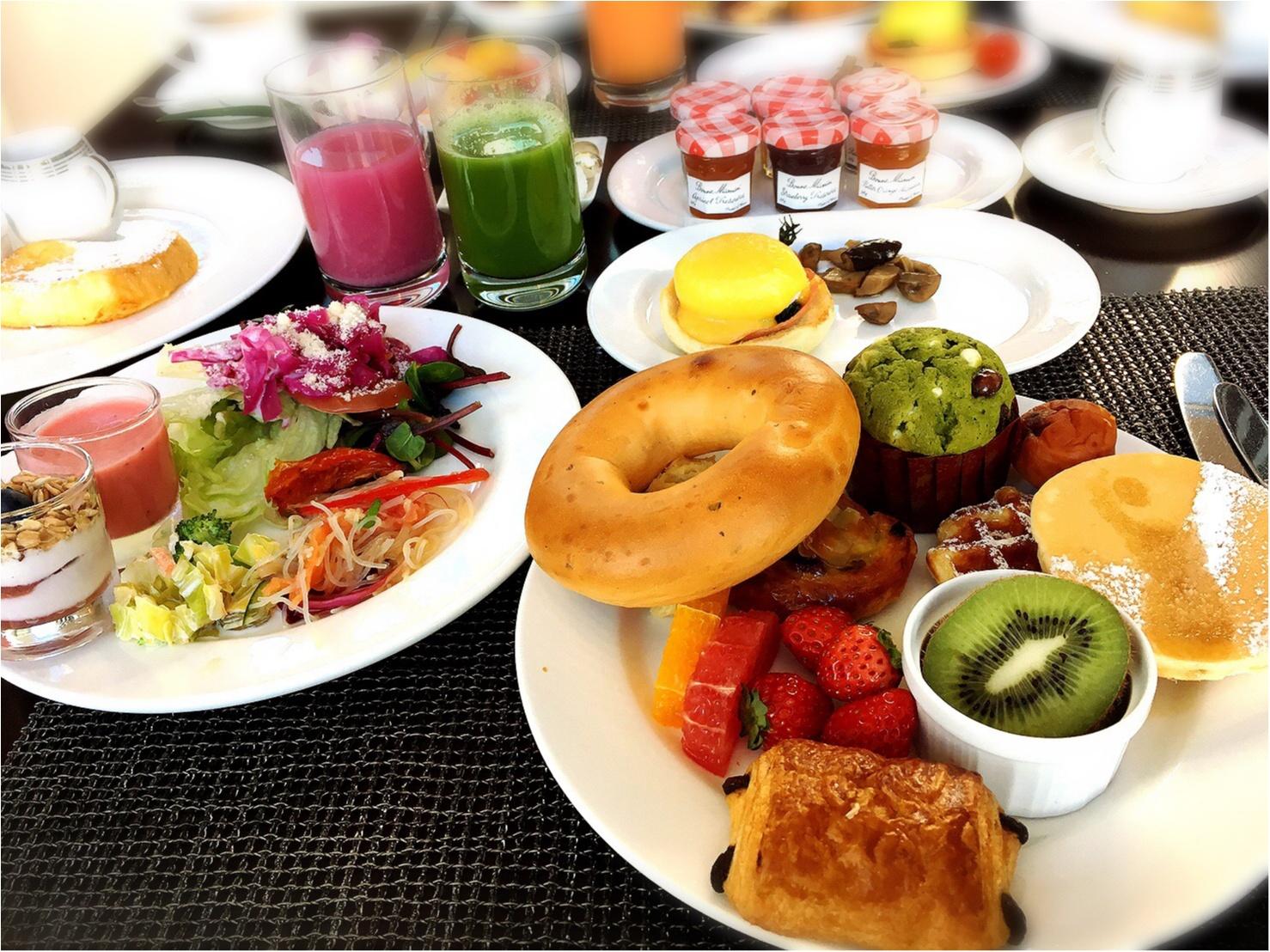平日お休みをとっていこう!コンラッド東京の朝食ビュッフェが最高。4347円→3500円で♡_13