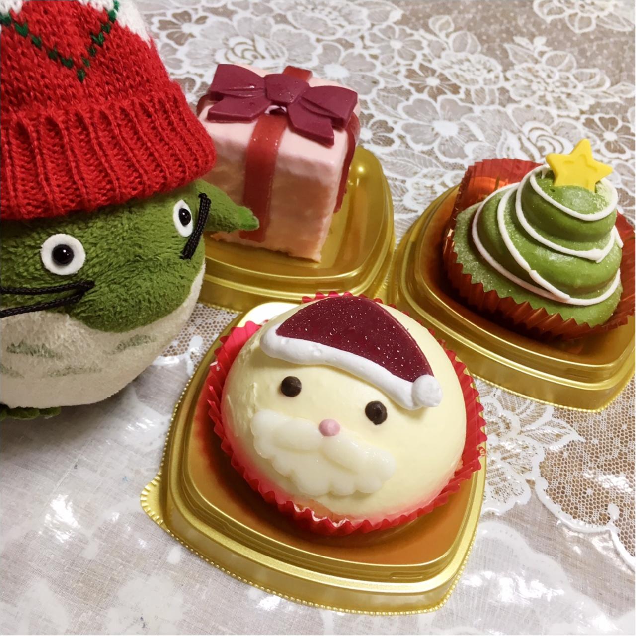 【コンビニスイーツ】インスタ映え間違いなし♡かわいいクリスマスケーキに大注目!【セブンイレブン】_3