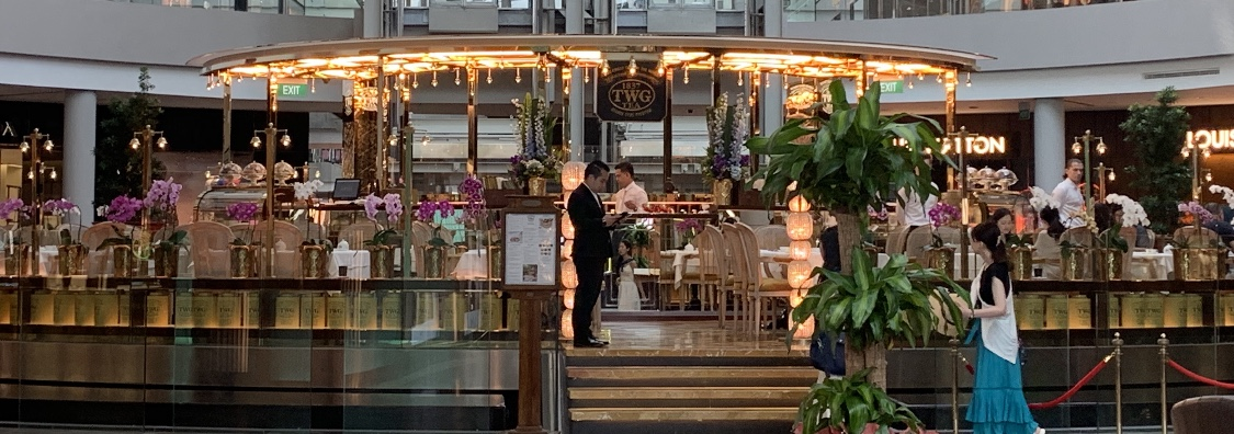 【シンガポール】紅茶が有名なTWG Tea on the Bay でランチ♪スイーツもフードも絶品【マリーナベイサンズ】_1