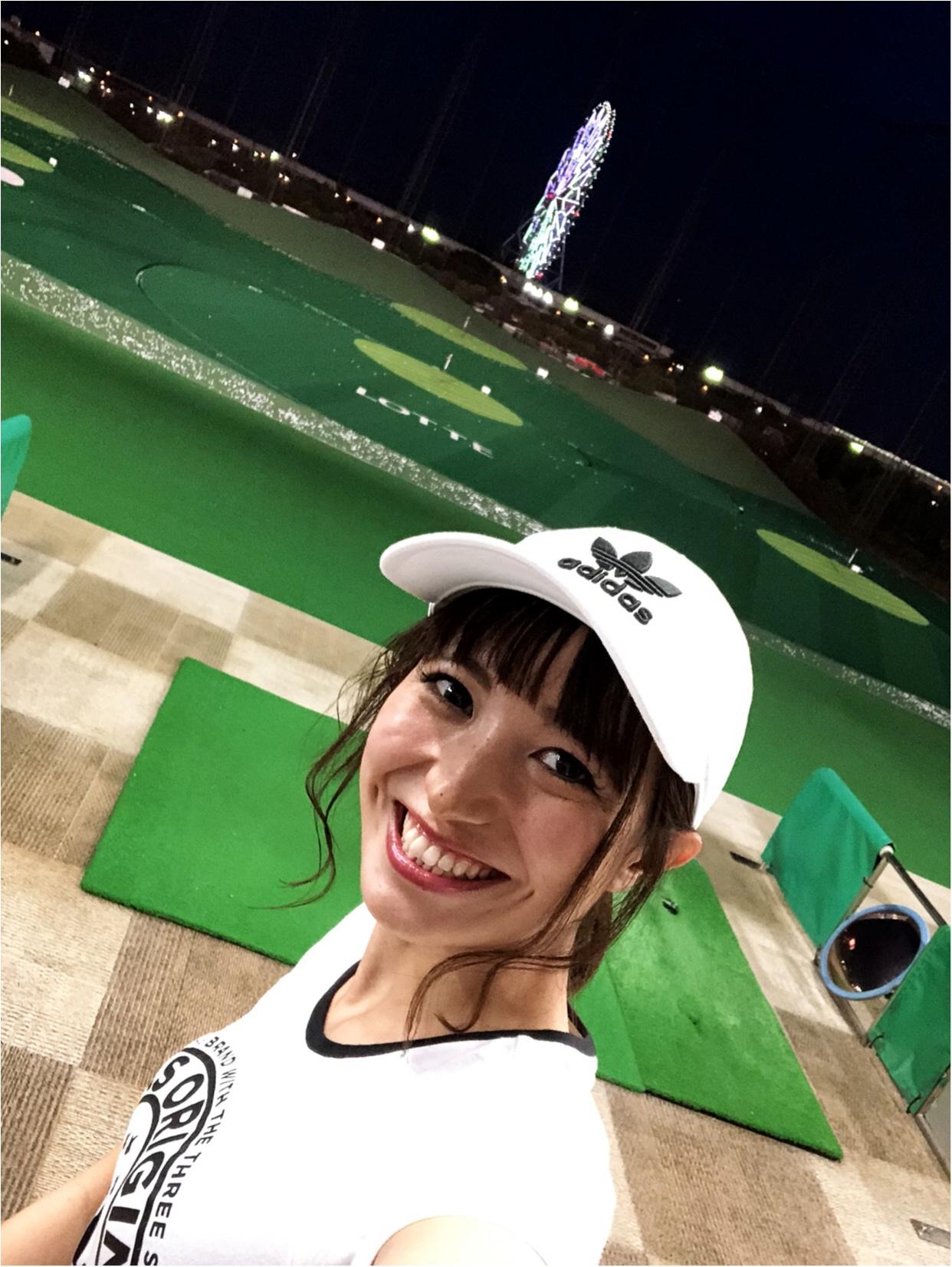 初体験!ゴルフ女子!!_3