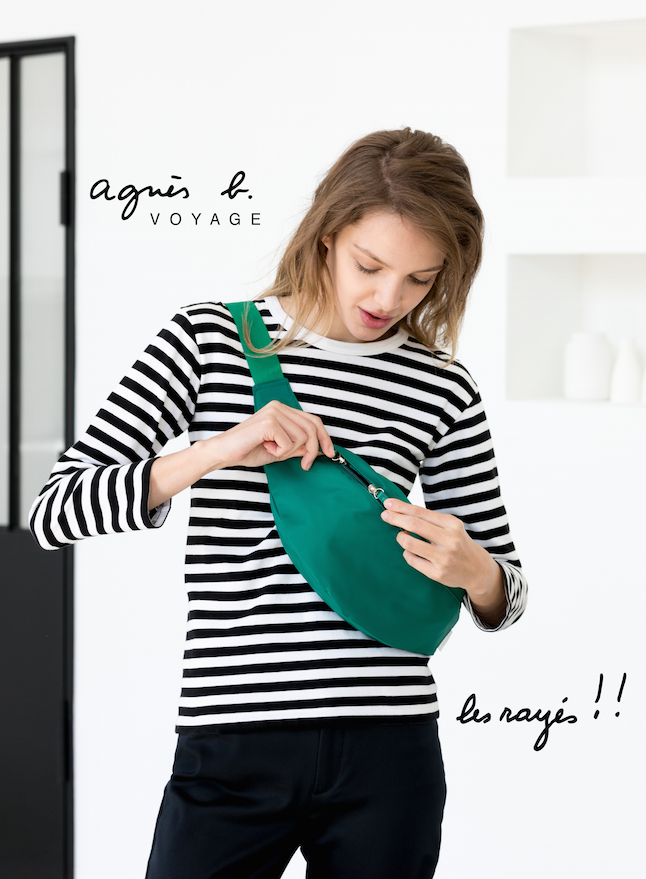 夏のお出かけに『アニエスベー ボヤージュ』の新作バッグ「レイエ」を連れてって!_6