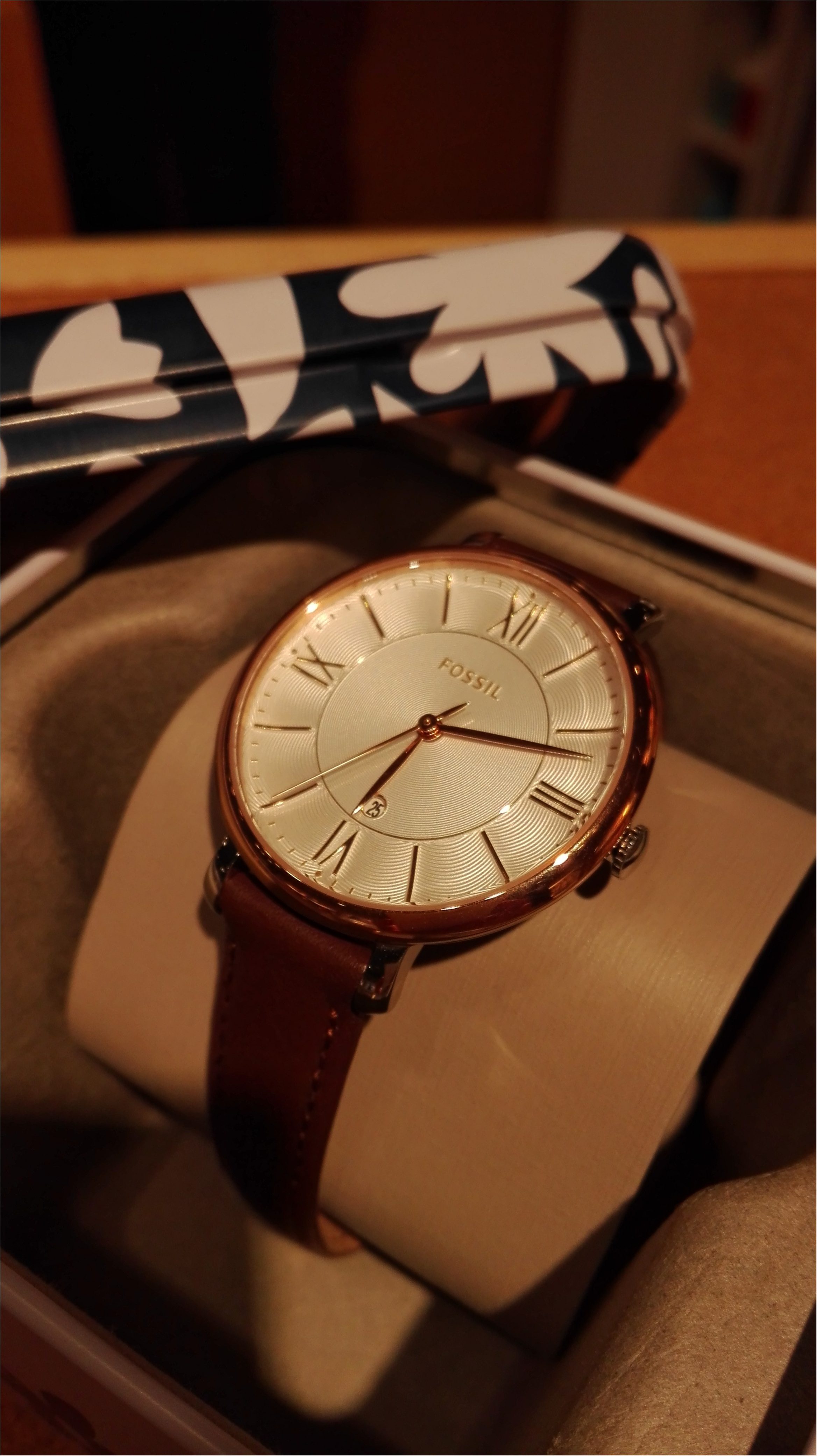 Fossilの腕時計♪_3