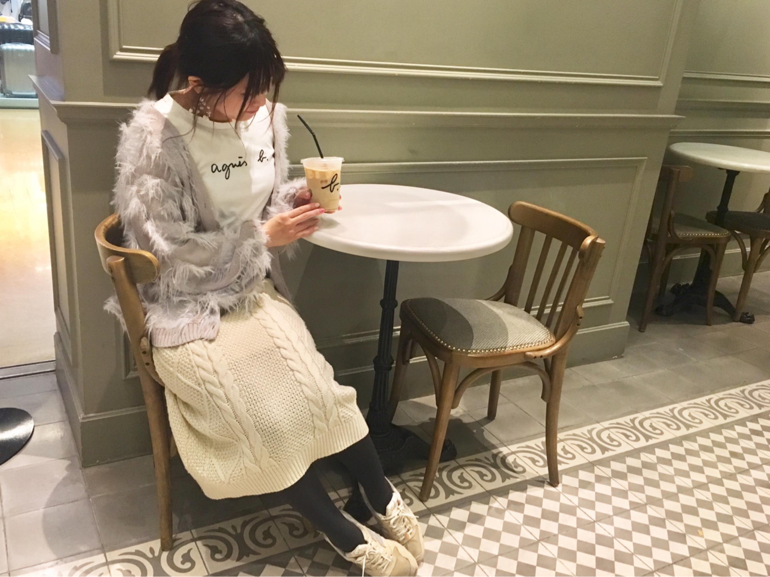 【今週のコーデまとめvol.43】台湾でスカート着まわし♡甘めカジュアル派の7days_5