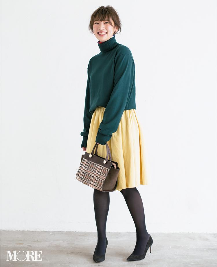 【読者変身】無難、甘すぎ、いつも同じ……きれい色スカートのお悩み、スタイリスト高野さんが解決します☆_2_5